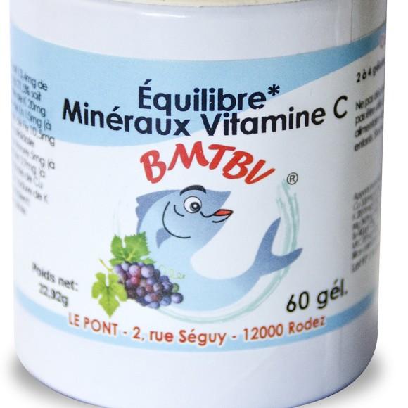 BMTBV - Boite Equilibre minéraux vit c - 60 gelules