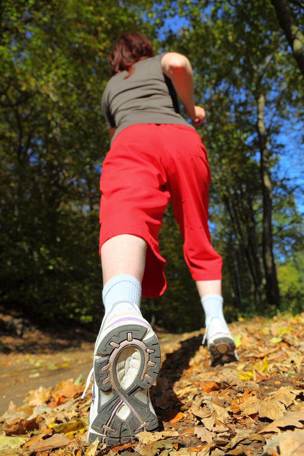 BMTBV vous recommande une marche rapide ou un jogging doux